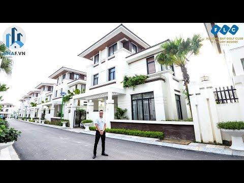 """Khám Phá Biệt Thự """"TRÊN ĐỒI"""" Hướng Biển Tại FLC Hạ Long Villa – NhaF [4K]"""