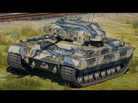 World of Tanks Caernarvon - 4 Kills 8K Damage thumbnail