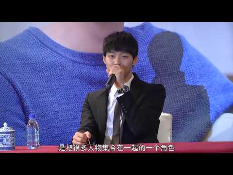 [Yinyuetai] 130111 Yuchun Beijing Media Day - Interview & Making (유천,ユチョン)