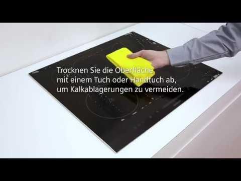 Siemens Ceranfeld Reinigen Und Pflegen | Siemens Hausgeräte