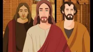 Bible stories for children - Jesus Heals a Demon Possessed Man ( Kids Cartoon Animation in English )