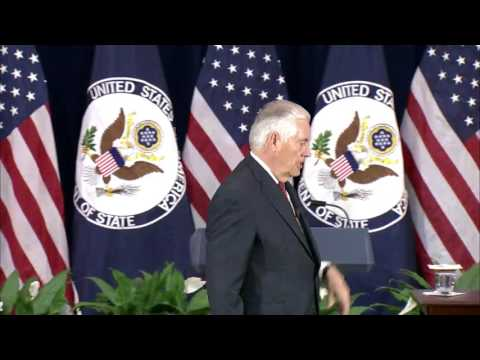 Secretary of State Tillerson Addresses Department of State Employees