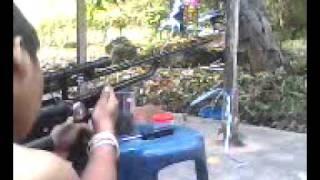 Repeat youtube video ปืนลมไทยประดิษฐ์  เเบบไม่มีสูบ  1