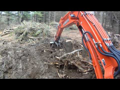 Excavating Lot Clearing