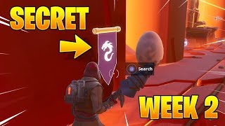 FORTNITE SECRET BANNER WEEK 2 SEASON 8 CHALLENGES!