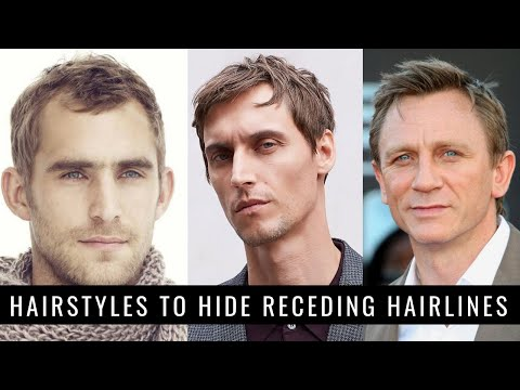 8-hairstyles-to-hide-receding-hairlines/big-foreheads-in-2020