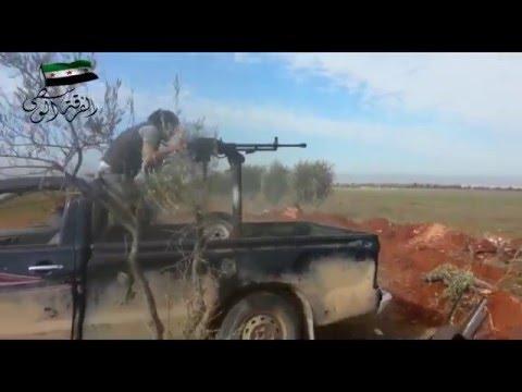 Видеоподборка боев в Сирии на 23.02.2016