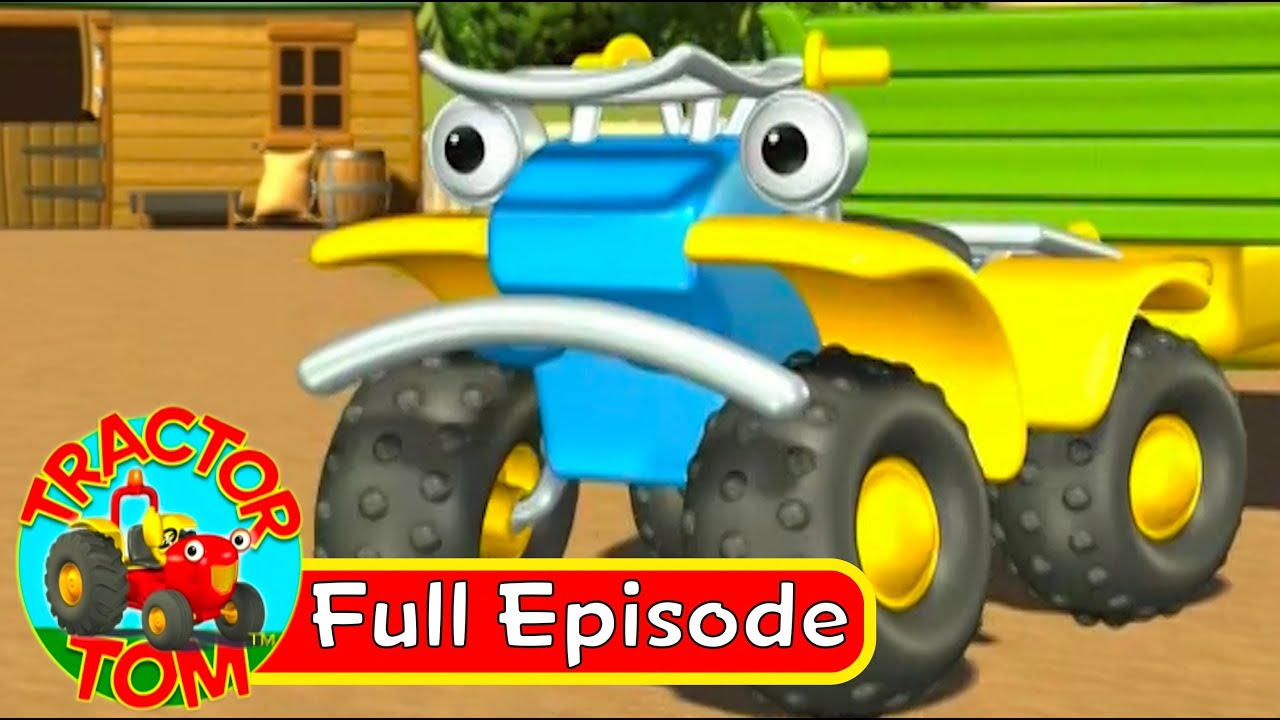 tractor tom - 11 a job for buzz  full episode