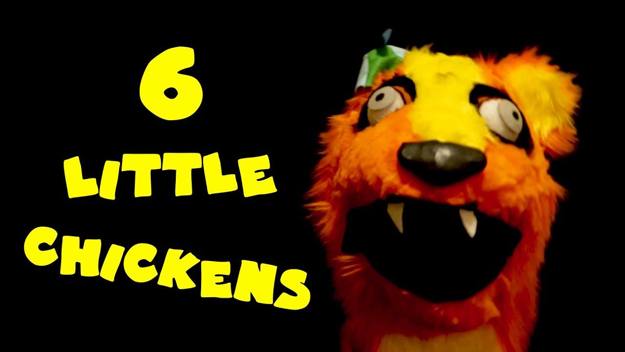 SIX LITTLE CHICKENS (Willy's Wonderland) Radioactive Chicken Heads Music Video