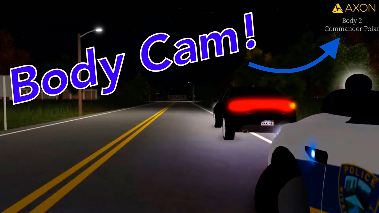 Body Camera From Foot Chase on Arbor Lane (Roblox ER:LC)