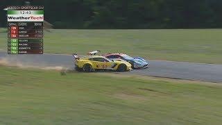 IMSA WeatherTech SportsCar Championship 2017. Virginia International Raceway. Last Laps