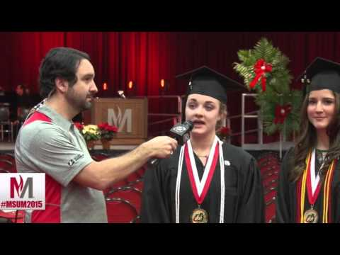 #MSUM2015 Proposal at graduation ceremony live on television