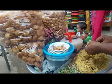 BHEL PURI,GOLGAPPA,PANIPURIভেলপুরির রেসিপি. Dhaka Street Chat Bhel Puri Recipe.