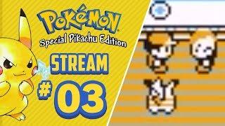 Playing Pokémon Yellow Until Pokémon Let's Go Pikachu & Eevee! - Stream #03