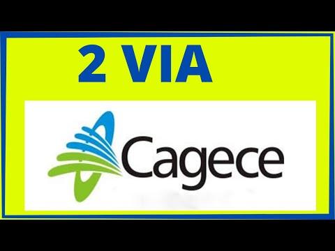 CAGECE 2 VIA : Tirar segunda via de conta da Cagece
