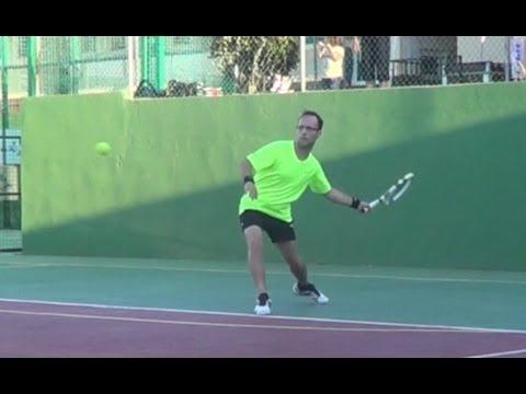 My tennis lesson 5 - Mi clase tenis 5