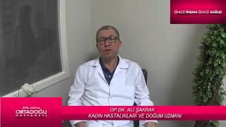 OP.DR. ALİ ŞAKRAK Kadın Hastalıkları Ve Doğum Uzmanı