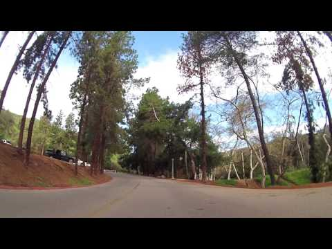 Parade of cyclists - Griffith Park