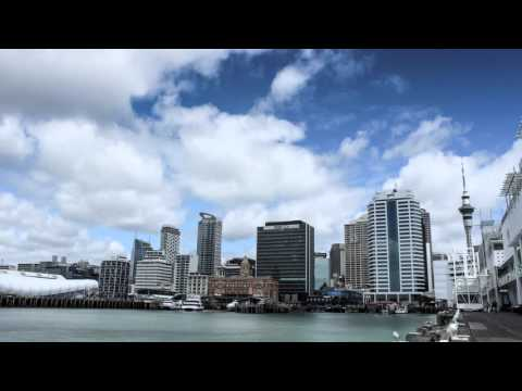 Auckland waterfront timelapse