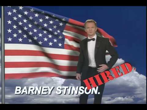 There How I Met Your Mother Barney Video Resume website