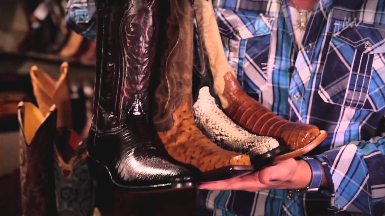 How to take care of your boots from Dan Post Boot Co. - YouTube
