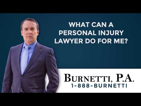 What Can an Injury Lawyer Do For Me?