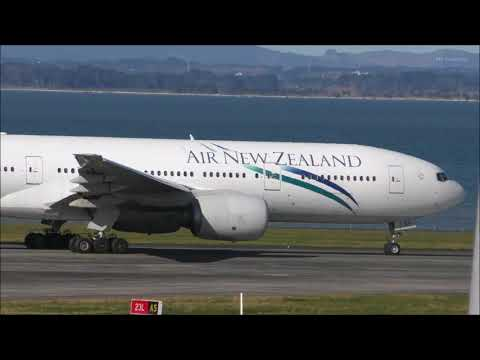 Auckland Airport Planespotting