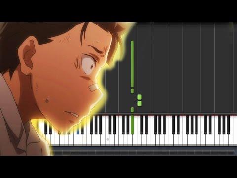 Re:Zero Kara Hajimeru Isekai Seikatsu ED 2 - Stay Alive (Piano Synthesia Tutorial + Sheet)