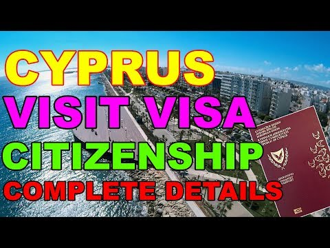 How To Get Cyprus Visit Visa [Study Visa] [Citizenship] Urdu/Hindi 2018 By Premier Visa Consultancy