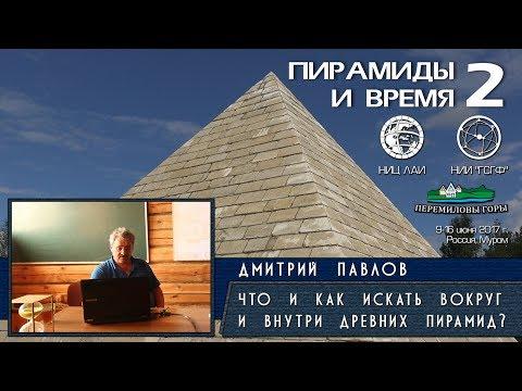 Дмитрий Павлов: Пирамиды Египта. Что и как искать вокруг и внутри