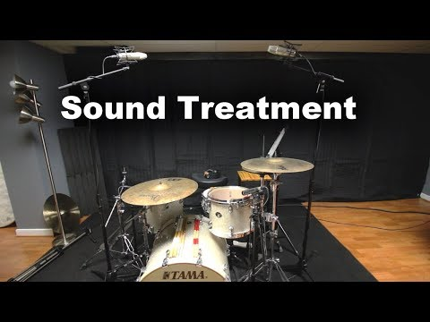 Sound Proofing My Drum Studio With Acoustic Blankets  From Vocal Booth To Go