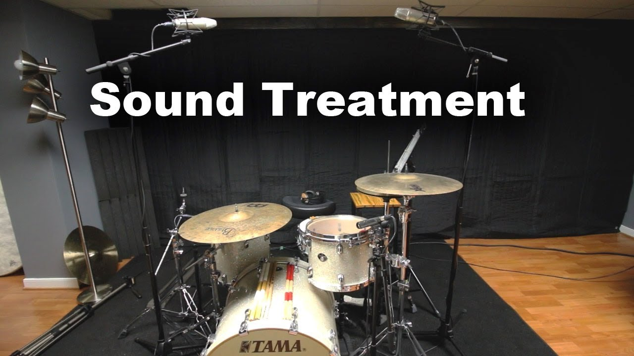 Sound Proofing My Drum Studio With Acoustic Blankets