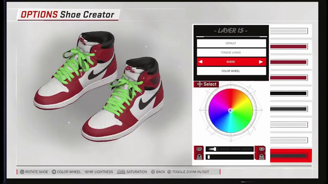 NBA 2K18: Jordans 1's OFF-WHITE