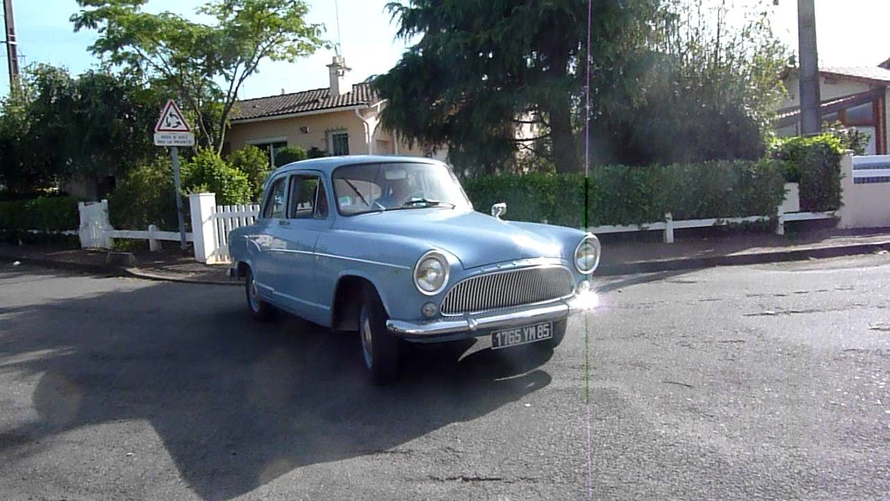 SIMCA P60 MONACO 1962 ARONDE P60 RANCH NOREV ALTAYA IXO 1:43
