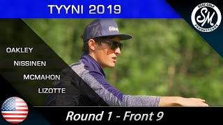 Tyyni 2019 | Round 1 Front 9 | Oakley, Nissinen, McMahon, Lizotte