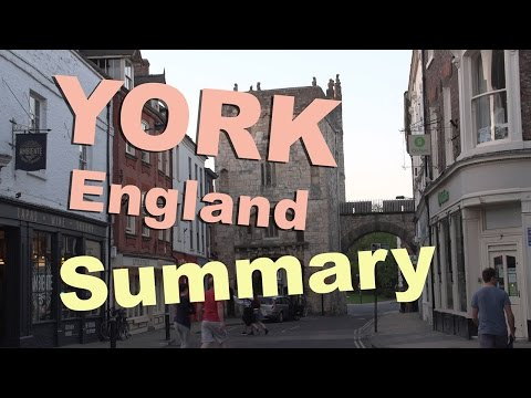 York, UK summary