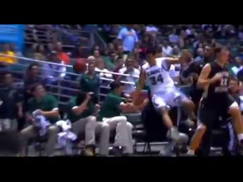 2013-14 CHRISTIAN STANDHARDINGER Hawaii Rainbow Warriors Basketball Highlights