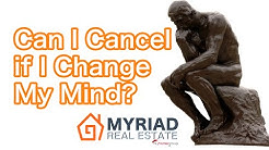 What if I change my mind after my offer is accepted? Do I lose money?