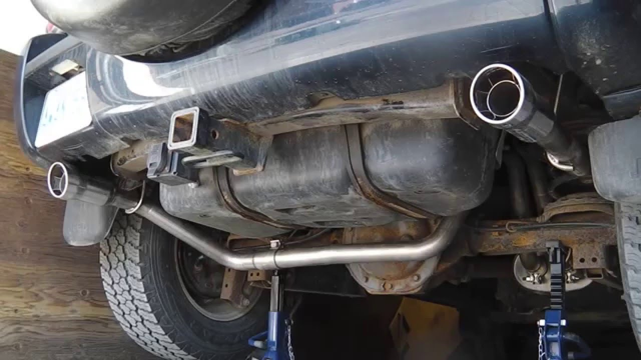Installing Borla Dual Exhaust For Jeep Liberty 2002 Youtube