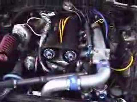twin turbo Ford 23 with Volvo head  YouTube