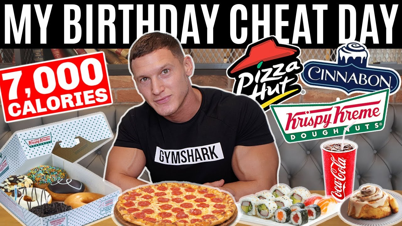 MY BIRTHDAY CHEAT DAY! *eating everything I want for 24 hours*