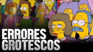 5 Errores GROTESCOS de LOS SIMPSONS