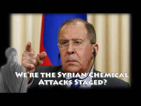 Russia says Syria chemical attack was staged by foreign rival - Video