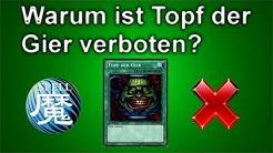 Yu-Gi-Oh! | Warum ist Topf der Gier verboten?