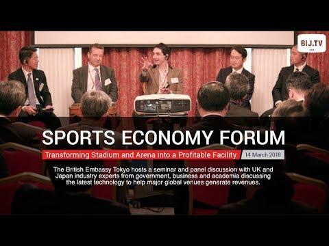 Talking Sports Economy at the British Embassy Tokyo