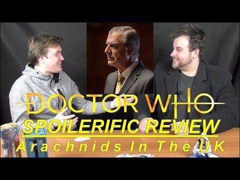 SPOILERIFIC REVIEW: Doctor Who - Arachnids in the UK   Votesaxon07