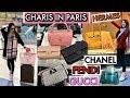 PARIS SHOPPING VLOG - PART 1- CHANEL, FENDI, HERMES, GUCCI | CHARIS IN PARIS 💕