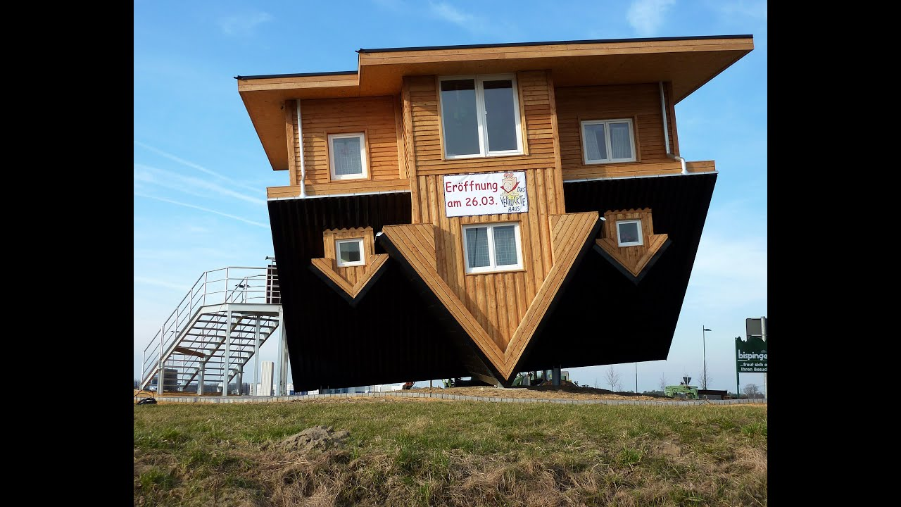 Top 10 upside down houses youtube The upside house