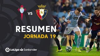 Resumen de RC Celta vs CA Osasuna (1-1)