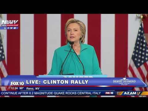 Hillary Clinton Calls Out Alex Jones And Conspiracy Theorists Worldwide FNN